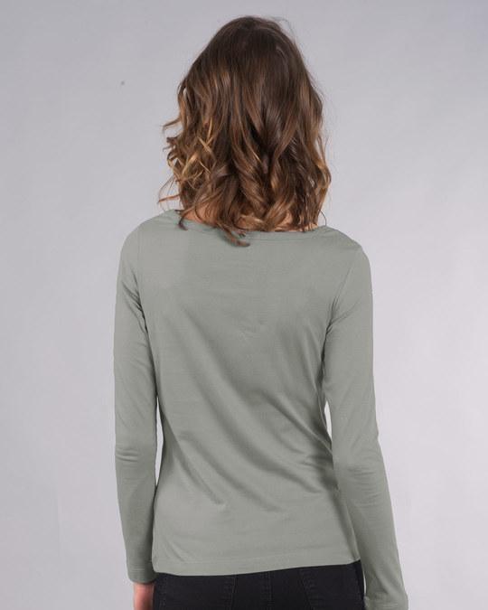 Shop Batman Chibi Scoop Neck Full Sleeve T-Shirt (BML)-Back