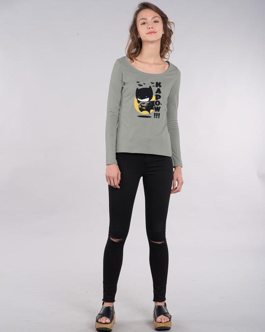 Shop Batman Chibi Scoop Neck Full Sleeve T-Shirt (BML)-Design