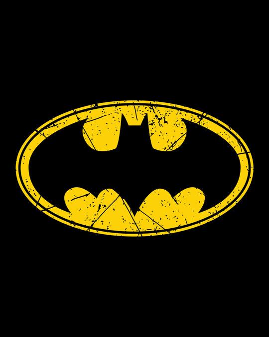 Shop Batman Classic Logo Fleece Hoodie (BML)