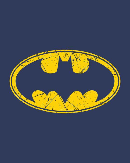 Shop Batman Classic Logo Fleece Light Sweatshirt (BML)-Full