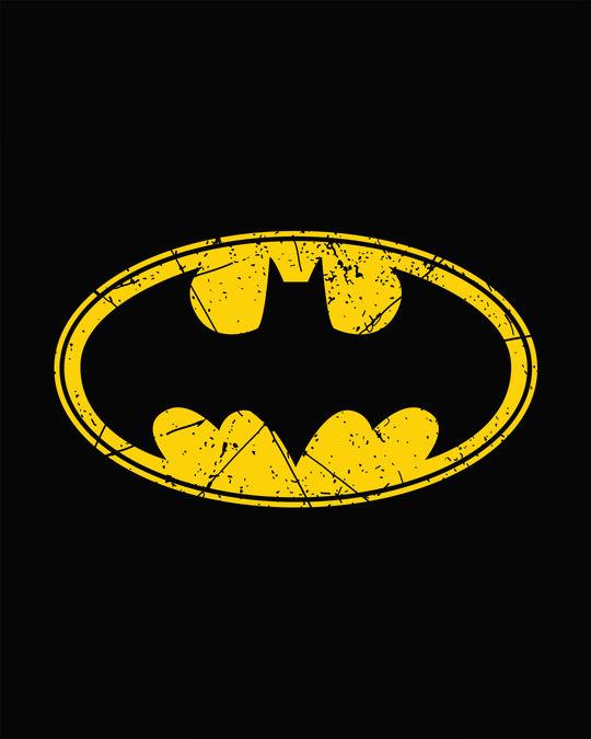 Shop Batman Classic Logo Full Sleeve T-Shirt (BML)