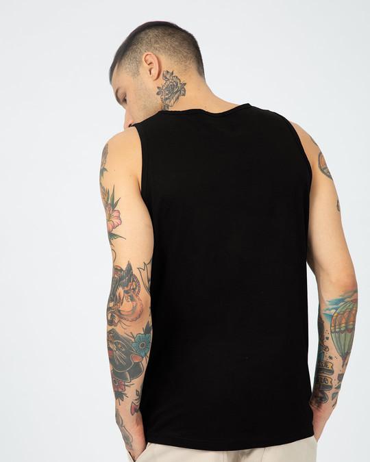 Shop Batman Classic Logo Vest (BML)-Back