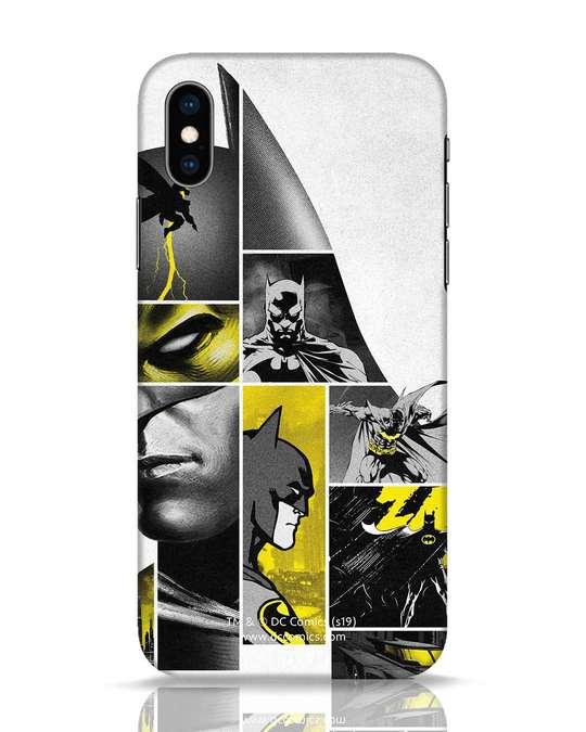 Shop Batman Collage iPhone XS Mobile Cover-Front