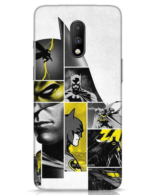 Shop Batman Collage OnePlus 7 Mobile Cover-Front