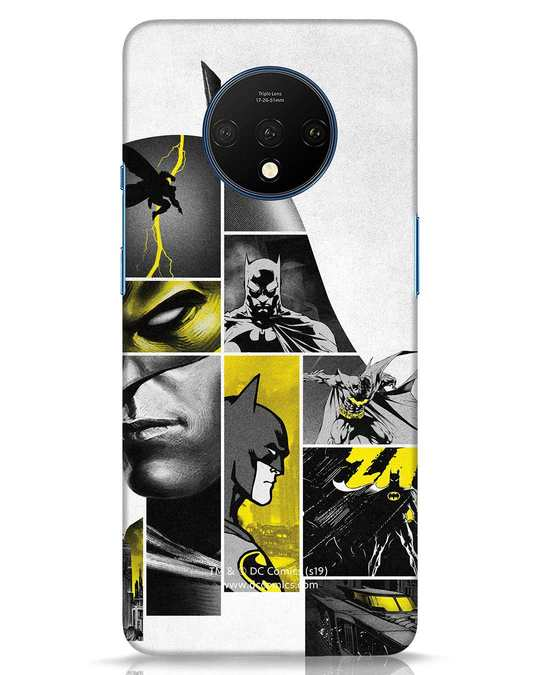Shop Batman Collage OnePlus 7T Mobile Cover-Front