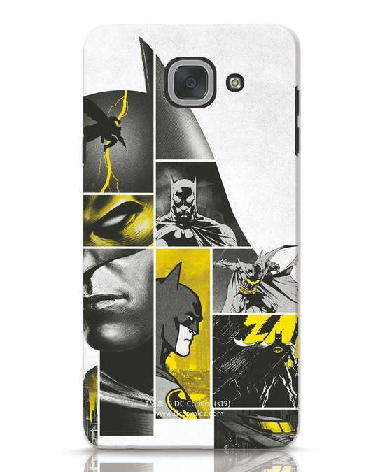 Shop Batman Collage Samsung Galaxy J7 Max Mobile Cover-Front