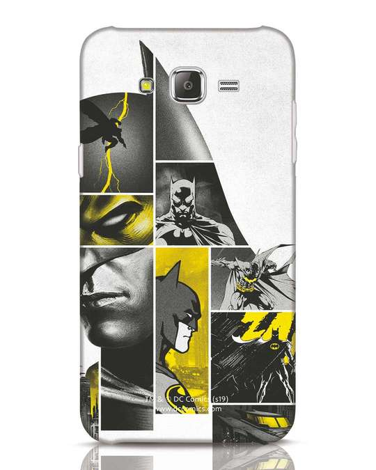 Shop Batman Collage Samsung Galaxy J7 Mobile Cover-Front