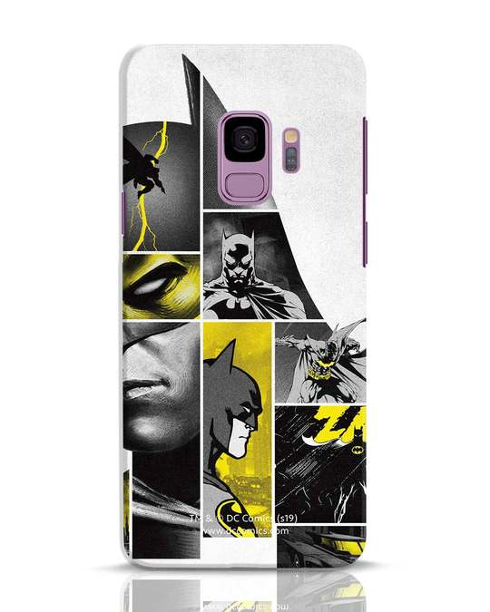 Shop Batman Collage Samsung Galaxy S9 Mobile Cover-Front