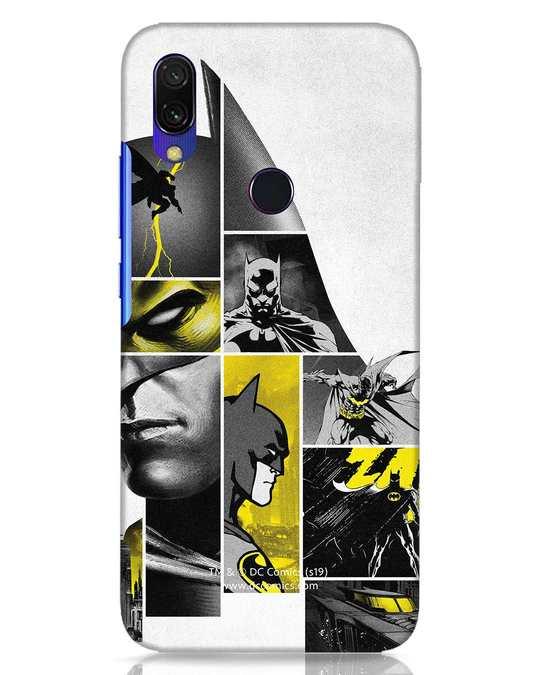 Shop Batman Collage Xiaomi Redmi Y3 Mobile Cover-Front