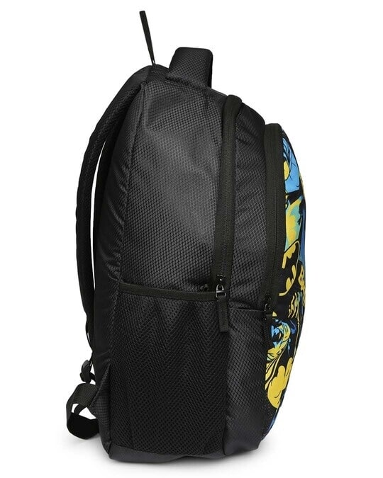 Shop Batman Colorful Printed Poster 23 Litre Backpack-Back