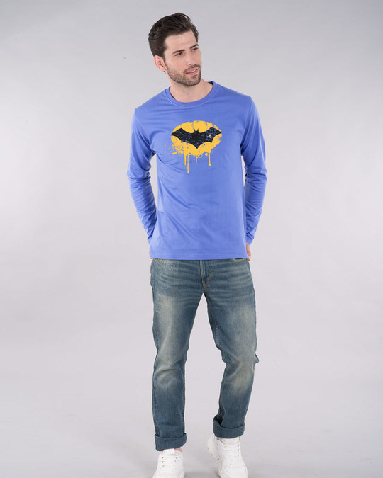 Shop Batman Dripping Full Sleeve T-Shirt (BML)-Design