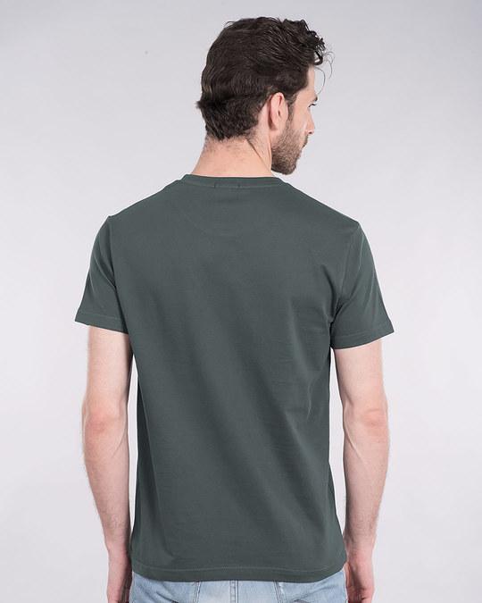 Shop Batman Dripping Half Sleeve T-Shirt (BML)-Back