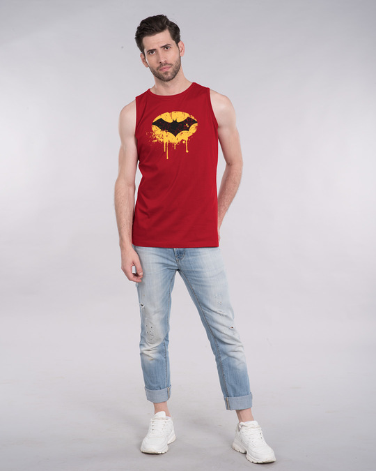 Shop Batman Dripping Vest (BML)-Design
