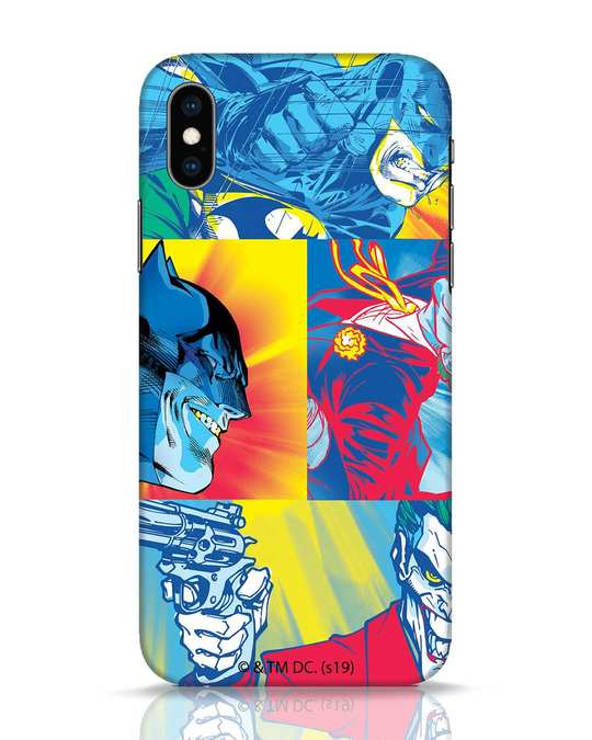 Shop Batman Joker Panel iPhone XS Mobile Cover (BML)-Front