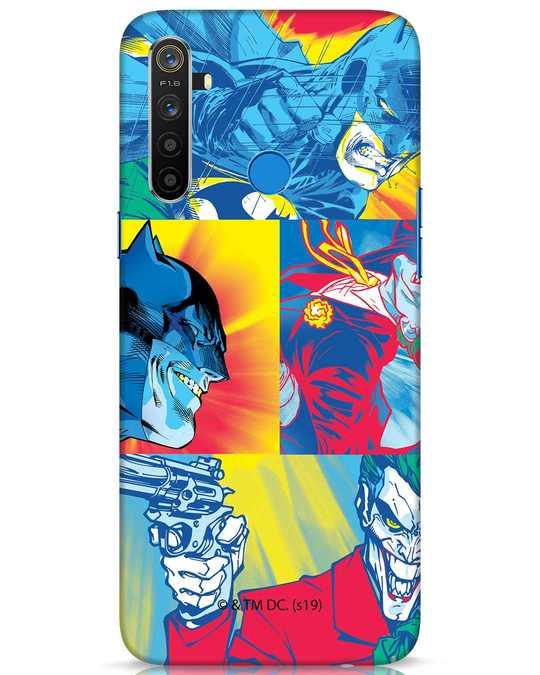 Shop Batman Joker Panel Realme 5 Mobile Cover (BML)-Front
