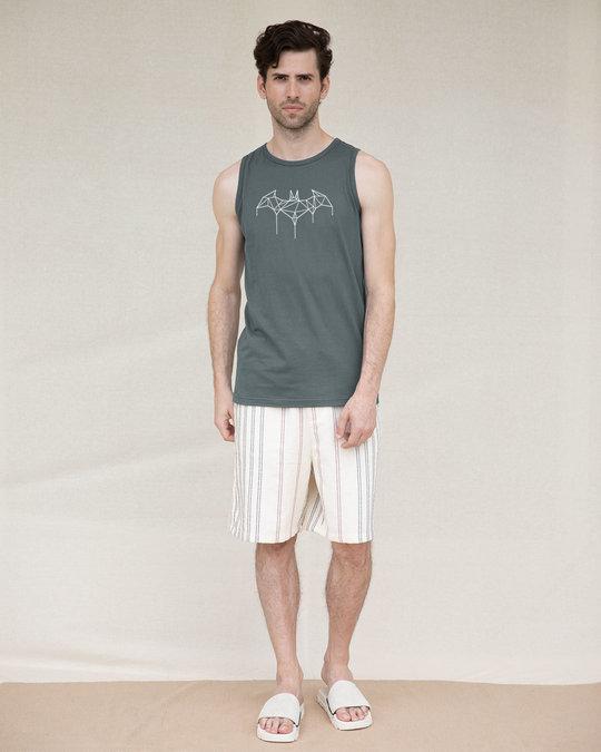 Shop Batman Line Vest (GID) (BML)-Full