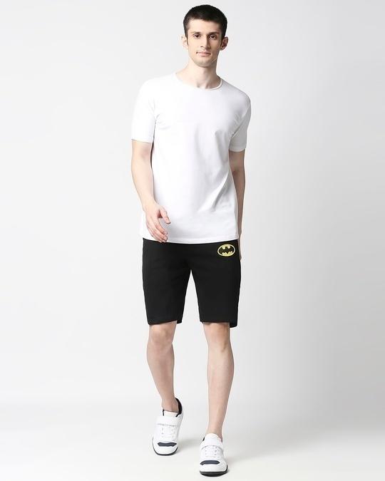 Shop Batman Logo Casual Badge Shorts-Full