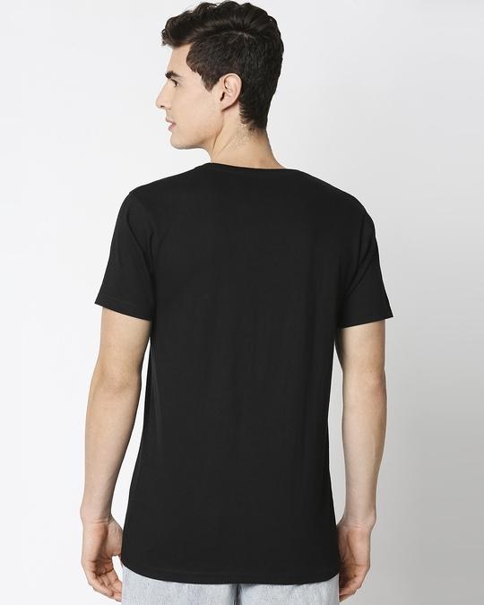 Shop Batman Logo Half Sleeves T-Shirt (BML) -Full