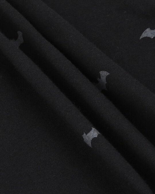 Shop Batman Minimal Boyfriend AOP T-Shirt