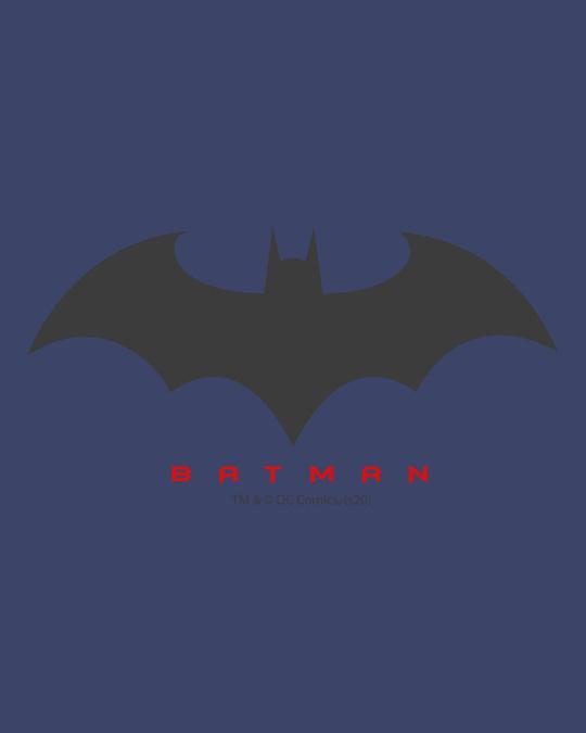 Shop Batman Outline logo Stylised Panel Sweatshirt Hoodie-Full