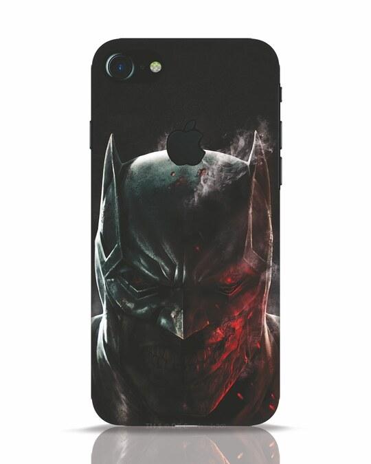 Shop Batman Rogue iPhone 7 Logo Cut Mobile Cover-Front