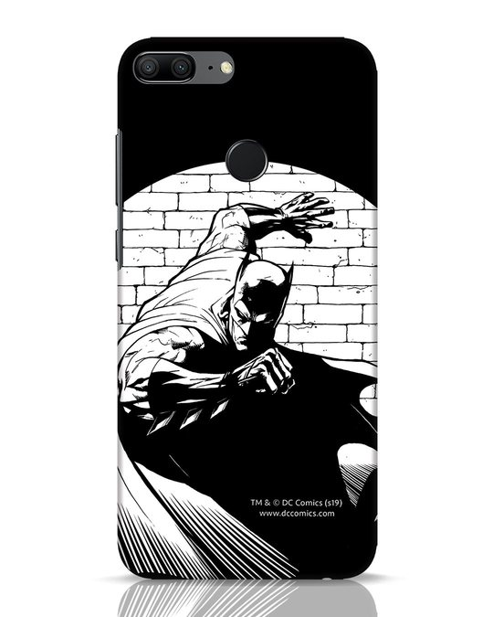 Shop Batman Spotted Huawei Honor 9 Lite Mobile Cover (BML)-Front
