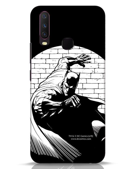Shop Batman Spotted Vivo Y17 Mobile Cover (BML)-Front