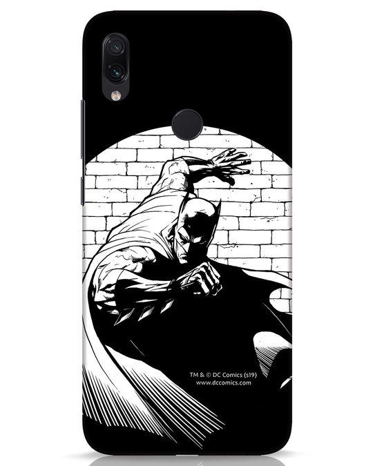 Shop Batman Spotted Xiaomi Redmi Note 7s Mobile Cover (BML)-Front
