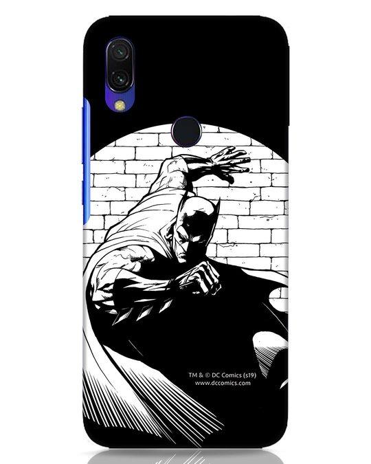 Shop Batman Spotted Xiaomi Redmi Y3 Mobile Cover (BML)-Front