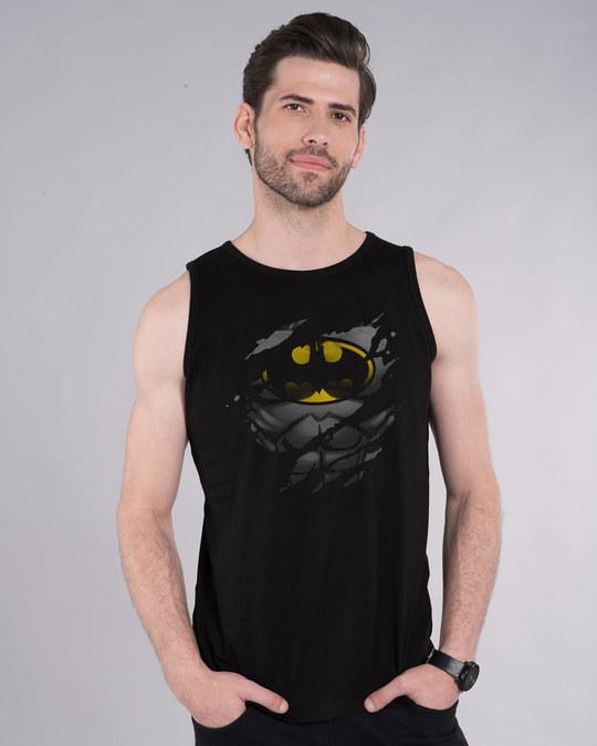 Shop Batman Torn Vest (BML)-Front