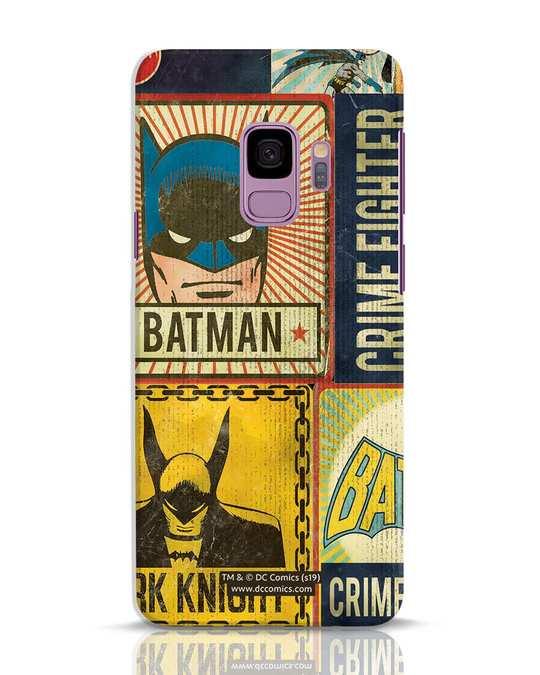 Shop Batman Vintage Samsung Galaxy S9 Mobile Cover (BML)-Front