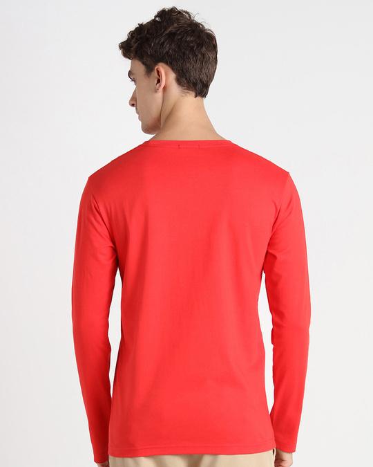 Shop Be A Human Full Sleeve T-Shirt-Back