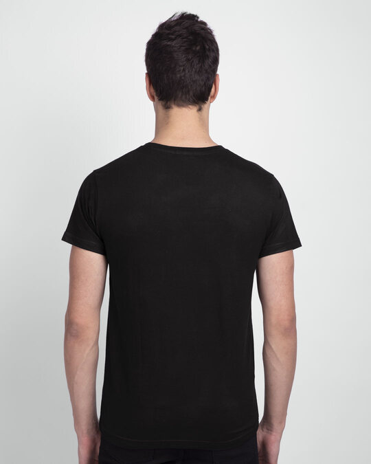 Shop Be-Er Solution Half Sleeve T-Shirt Black-Design