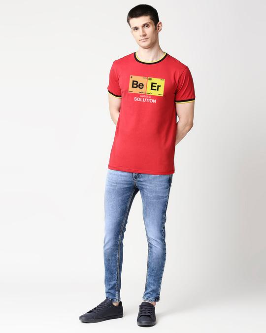 Shop Be-er Solution Varsity T-Shirt-Design