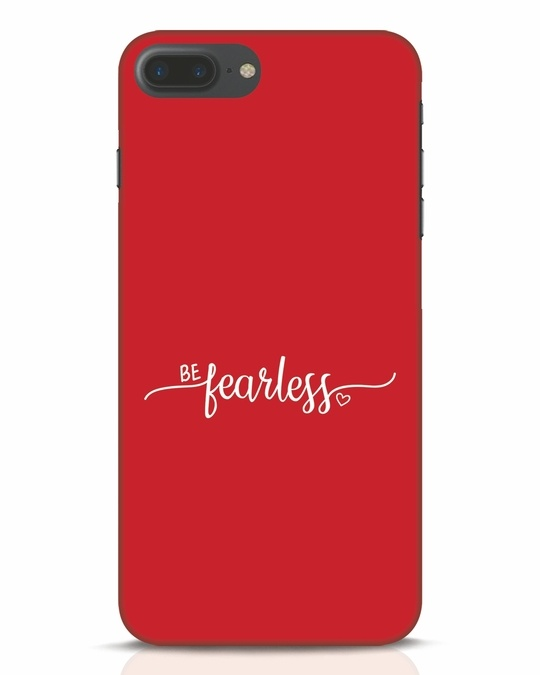Shop Be Fearless iPhone 7 Plus Mobile Cover-Front