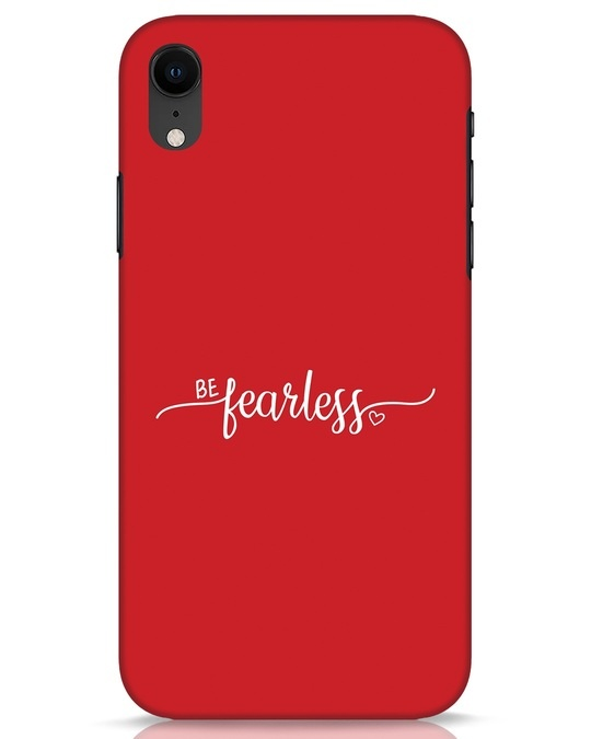 Shop Be Fearless iPhone XR Mobile Cover-Front