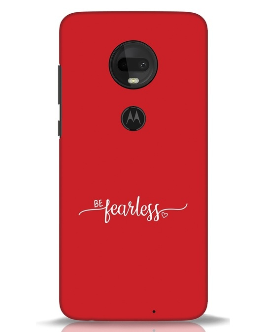 Shop Be Fearless Moto G7 Mobile Cover-Front