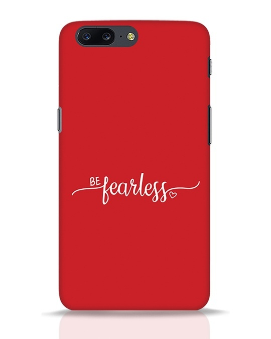 Shop Be Fearless OnePlus 5 Mobile Cover-Front