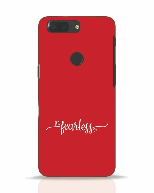 Shop Be Fearless OnePlus 5T Mobile Cover-Front