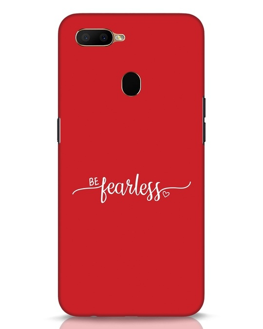 Shop Be Fearless Oppo A5s Mobile Cover-Front