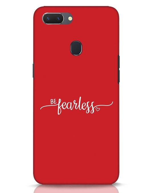 Shop Be Fearless Realme 2 Mobile Cover-Front