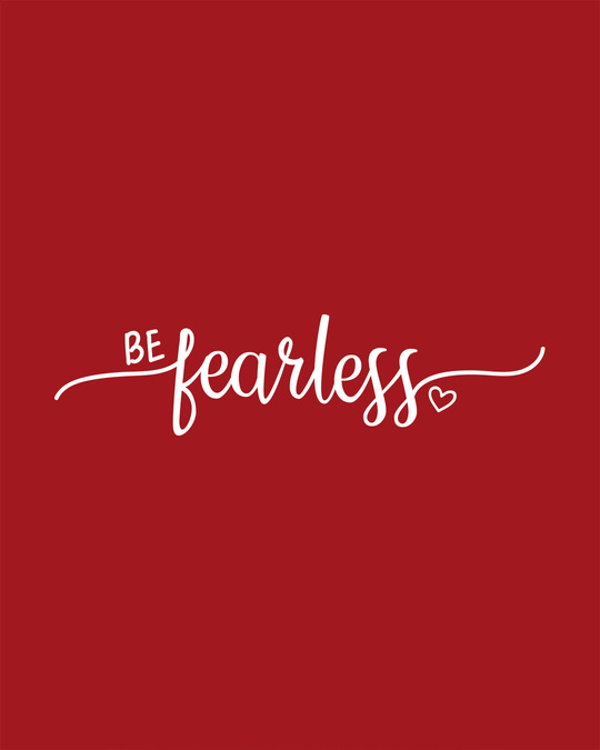Shop Be Fearless Round Neck 3/4th Sleeve T-Shirt