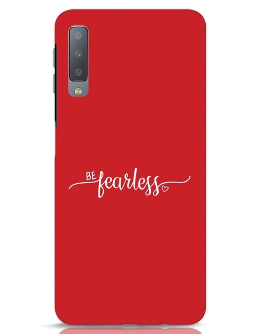 Shop Be Fearless Samsung Galaxy A7 Mobile Cover-Front