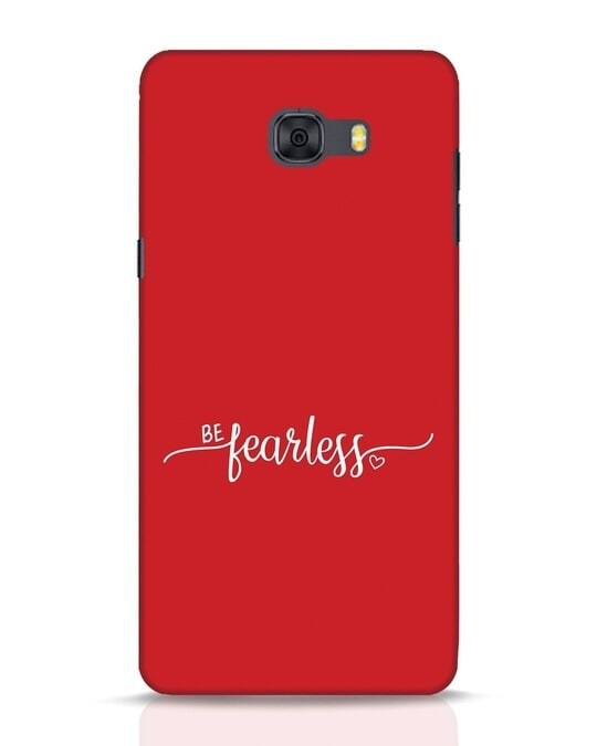 Shop Be Fearless Samsung Galaxy C9 Pro Mobile Cover-Front