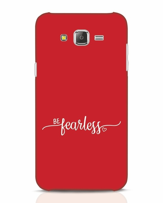 Shop Be Fearless Samsung Galaxy J7 Mobile Cover-Front