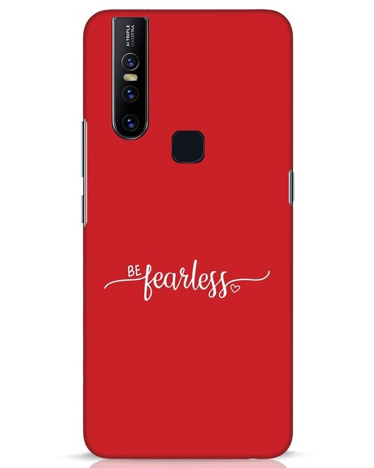 Shop Be Fearless Vivo V15 Mobile Cover-Front