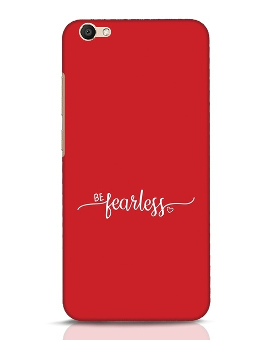 Shop Be Fearless Vivo V5 Mobile Cover-Front