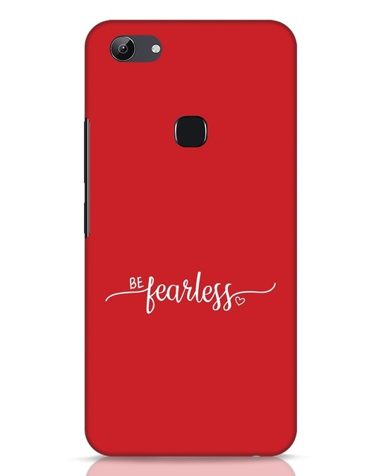 Shop Be Fearless Vivo Y83 Mobile Cover-Front