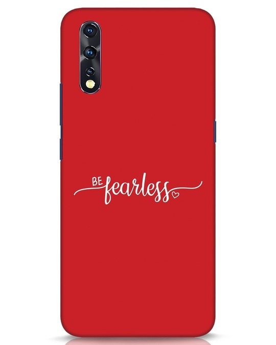 Shop Be Fearless Vivo Z1x Mobile Cover-Front