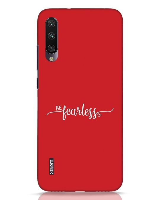 Shop Be Fearless Xiaomi Mi A3 Mobile Cover-Front